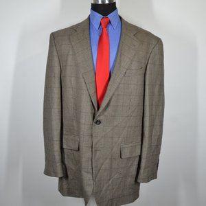 Oscar de le Renta 44L Sport Coat Blazer Suit Jacke